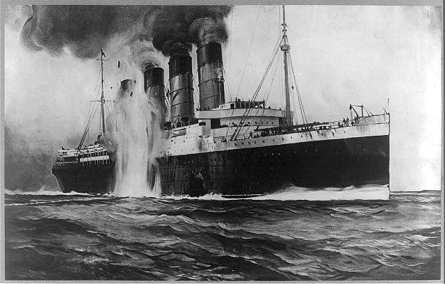 Торпедирование Лузитании